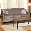 Hilda Sloped Arm Sofa - Sagittarius Granite Fabric - CHF-252600-30