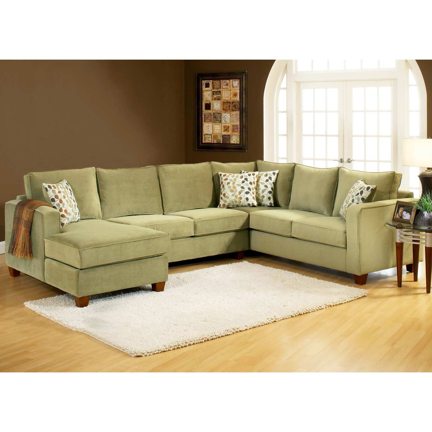 Baileys Sectional Couches: Bailey 3-Piece Chaise Sectional Sofa