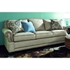 Cornell Transitional Sofa - Rolled Arms, Contrasting Welts - CHF-271990-03