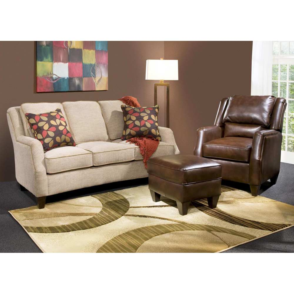 Russell apartment size sofa maniac sand fabric dcg stores - Apartment size sectional sofa ...