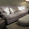 Port Edwards Button Tufted Sofa - Lindy Chinchilla Fabric - CHF-272444-03