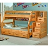 Twin Over Full Bunk Bed Staircase