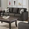Bergen Talbot Onyx Upholstered Sleeper Sofa