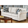 Kathy Fabric Sofa, Loveseat, and Chair Set with Cherry Legs - CHF-4400-SET