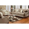 Warren Sofa in Wampum Taupe Fabric - CHF-FS4400-S