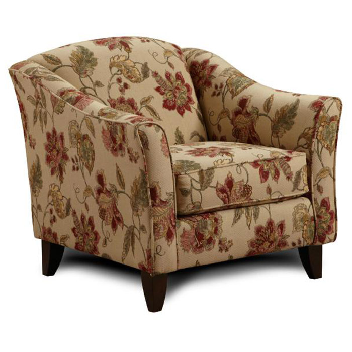 Monmouth Fabric Sofa And Floral Accent Chair Set Dcg Stores