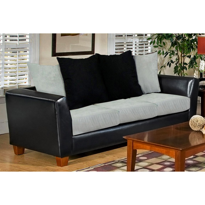 Jane Two-Toned Modern Living Room Sofa Set - CHF-4650-BL-SET