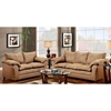 Gail Pillow Top Arm Loveseat - Victory Lane Taupe - CHF-471150-L-VLT