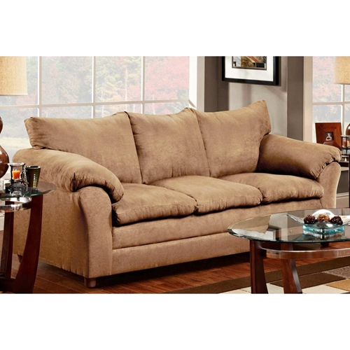 Gail Pillow Top Arm Sofa Victory Lane Taupe Dcg Stores