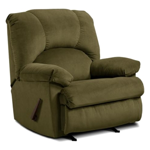 Charles Rocking Recliner Chair - Montana Loden Fabric