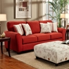 Gloucester Mariner Flame Fabric Sofa Sleeper - CHF-FS4804-SL