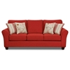 Gloucester Mariner Flame Fabric Sofa - CHF-FS4800-S