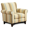 Hudson Multicolored Stripe Fabric Chair - CHF-FS502-C-ZF