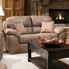 Bonnet Bustle Back Upholstered Loveseat - Ulyses Riverrock - CHF-5218A2