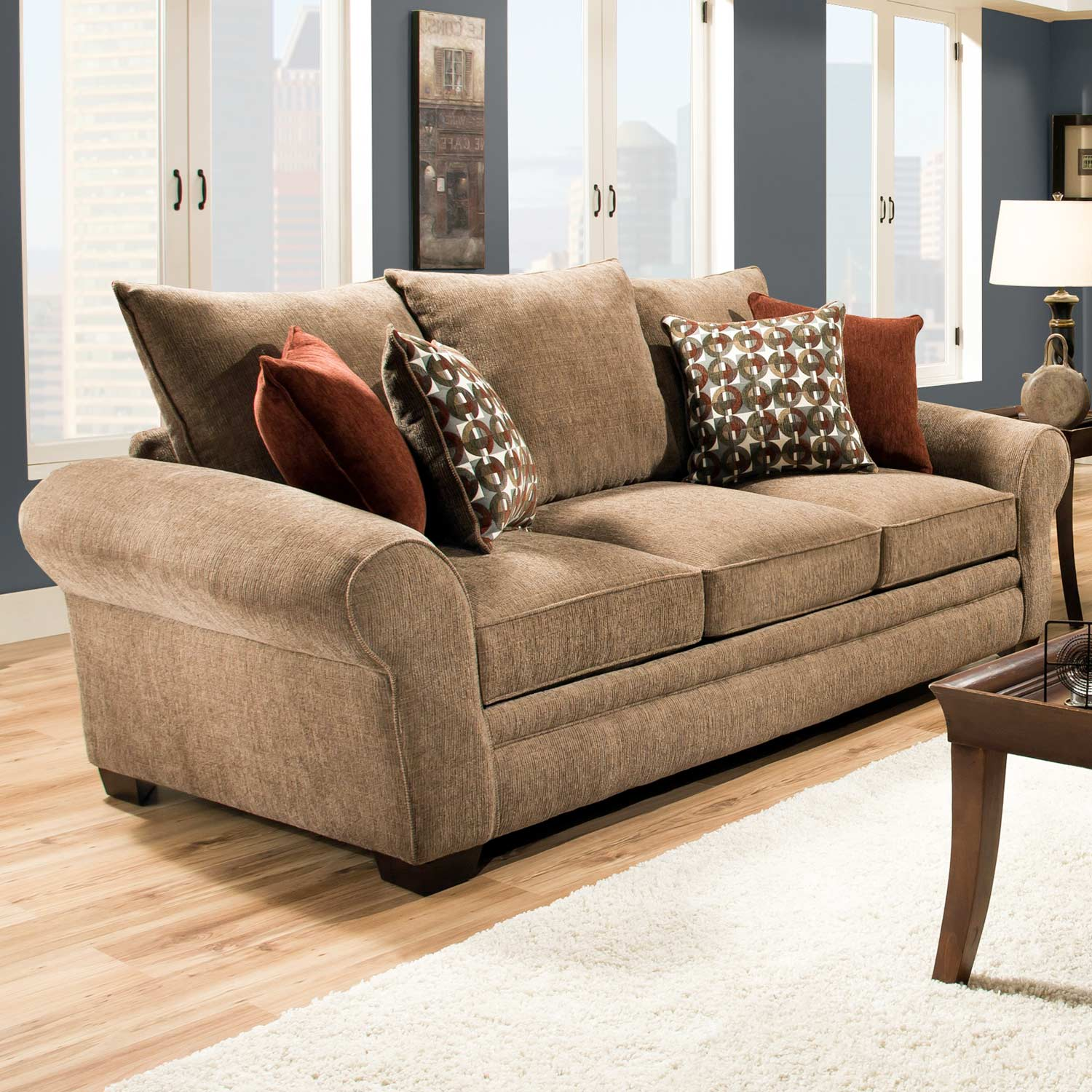 Pillows For Sectional Sofa: Accent Pillows, Resort Harvest
