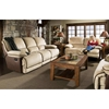 Dogwood Two-Toned Reclining Sofa - Contrasting Welts - CHF-52780-30