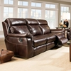 Sequoia Recliner Sofa - Contrast Stitching, Lowey Tobacco - CHF-52862-30