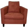 Heather Persimmon Orange Sofa Set with Tufted Accents - CHF-5900-BP-SET