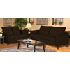Heather Java Living Room Sofa Set with Tufted Accents - CHF-5900-BJ-SET