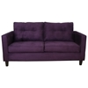 Heather Bulldozer Eggplant Tufted Sofa - CHF-5900-S-BE