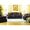 Horizon City Leather Roll Arm Sofa - Hillsboro Randwick - CHF-62H036-30