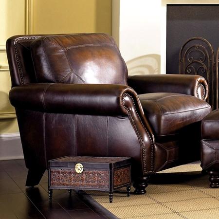 Abilene Rolled Arm Leather Chair Hillsboro Prairie Meadows Dcg Stores