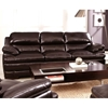 Midland Bustle Back Leather Sofa - Longhorn Blackberry - CHF-62J335-30