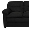 Lisa Fabric Loveseat with Plush Cushions - CHF-6300-L