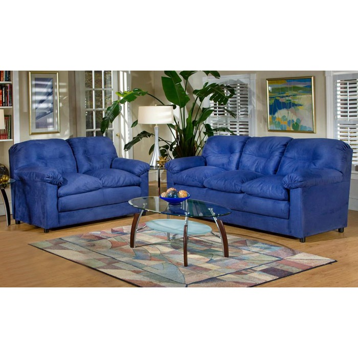 Lisa Contemporary Fabric Sofa and Chair Set - CHF-6300-SET