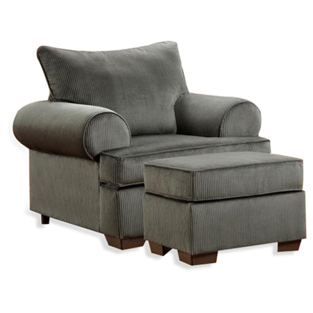 Wyatt armchair marshall steel fabric dcg stores for T furniture okolona ms