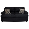 Clara 3 Piece Living Room Set in Bulldozer Black - CHF-6525-BBLK-SET