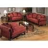 Serta Tai Victorian Style Loveseat with Rolled Arms - CHF-6765011-L-MM