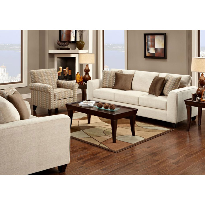 Camden Contemporary Fabric Sofa with Tapered Legs - CHF-FS1420-S