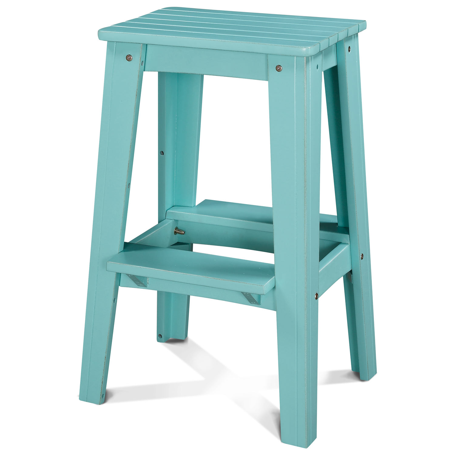 30 backless outdoor patio bar stool rustic caribbean dream turquoise dcg stores Rustic outdoor bar stools