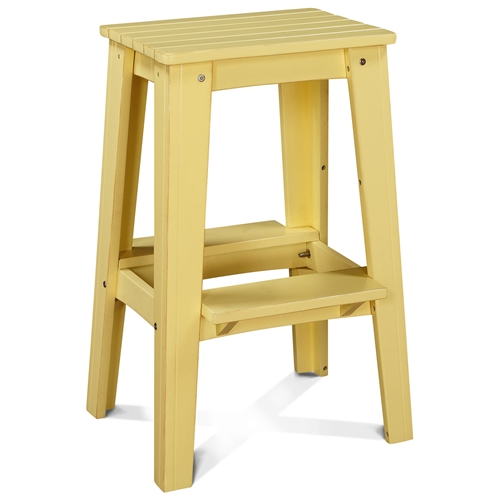 30 backless outdoor patio bar stool rustic lemonade yellow dcg stores Rustic outdoor bar stools