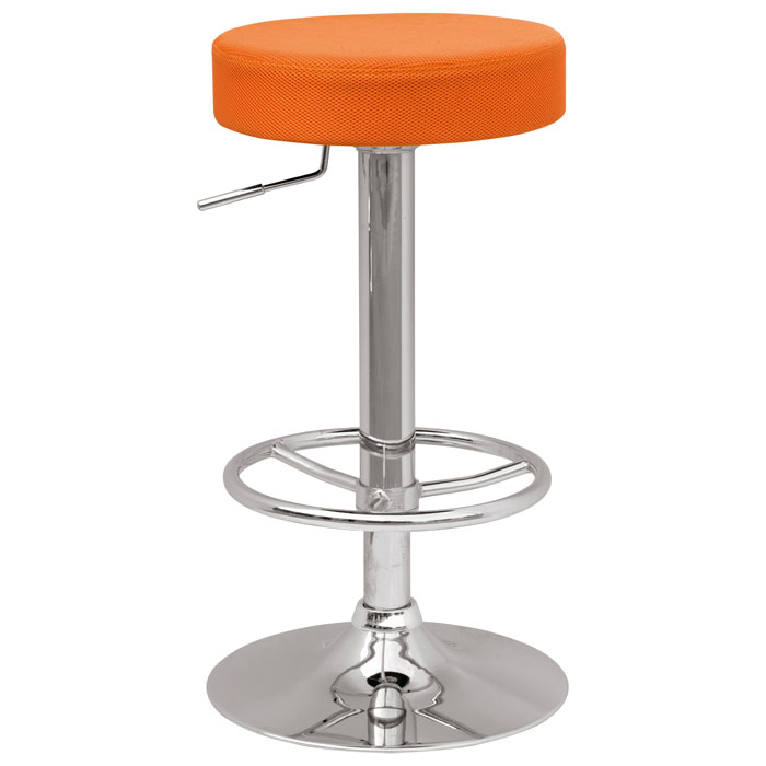Cybele Backless Adjustable Height Stool Four Color