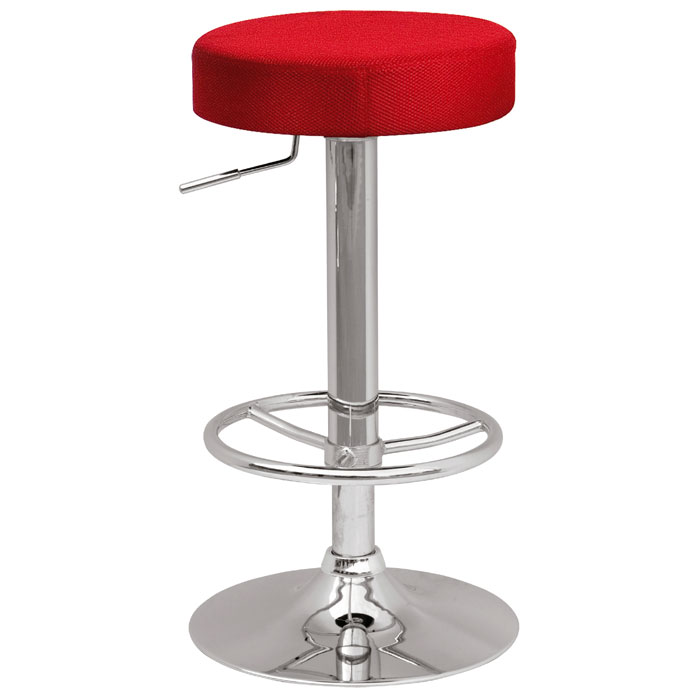 Cybele Backless Adjustable Height Stool - Four Color Covers - CI-0327-AS