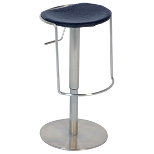 Jillian Adjustable Pneumatic Swivel Stool - Black