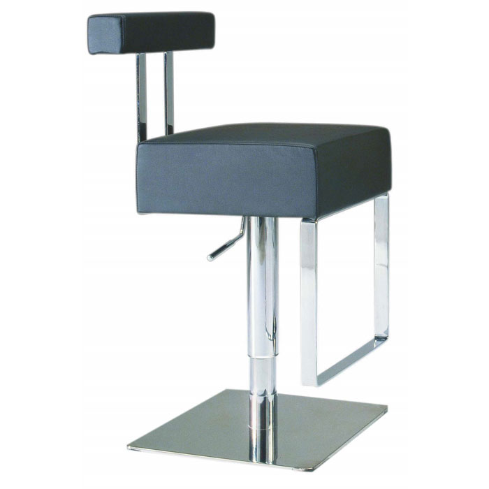Neville Adjustable Height Swivel Stool - CI-0812-AS-X