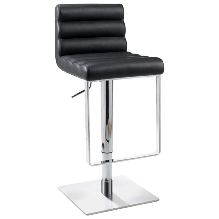Oxford Ribbed Adjustable Height Swivel Stool - CI-0830-AS-X