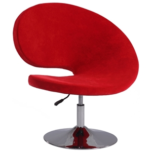 Magnificent Cassiopeia Swivel Accent Chair Red Velvet Adjustable Theyellowbook Wood Chair Design Ideas Theyellowbookinfo