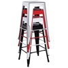 Trent Outdoor Bar Stool - Steel, Stackable - CI-8015-BS