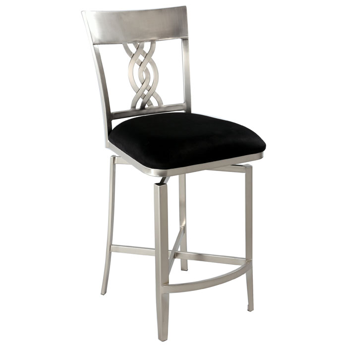 Angelina Swivel Memory Return Counter Stool Dcg Stores