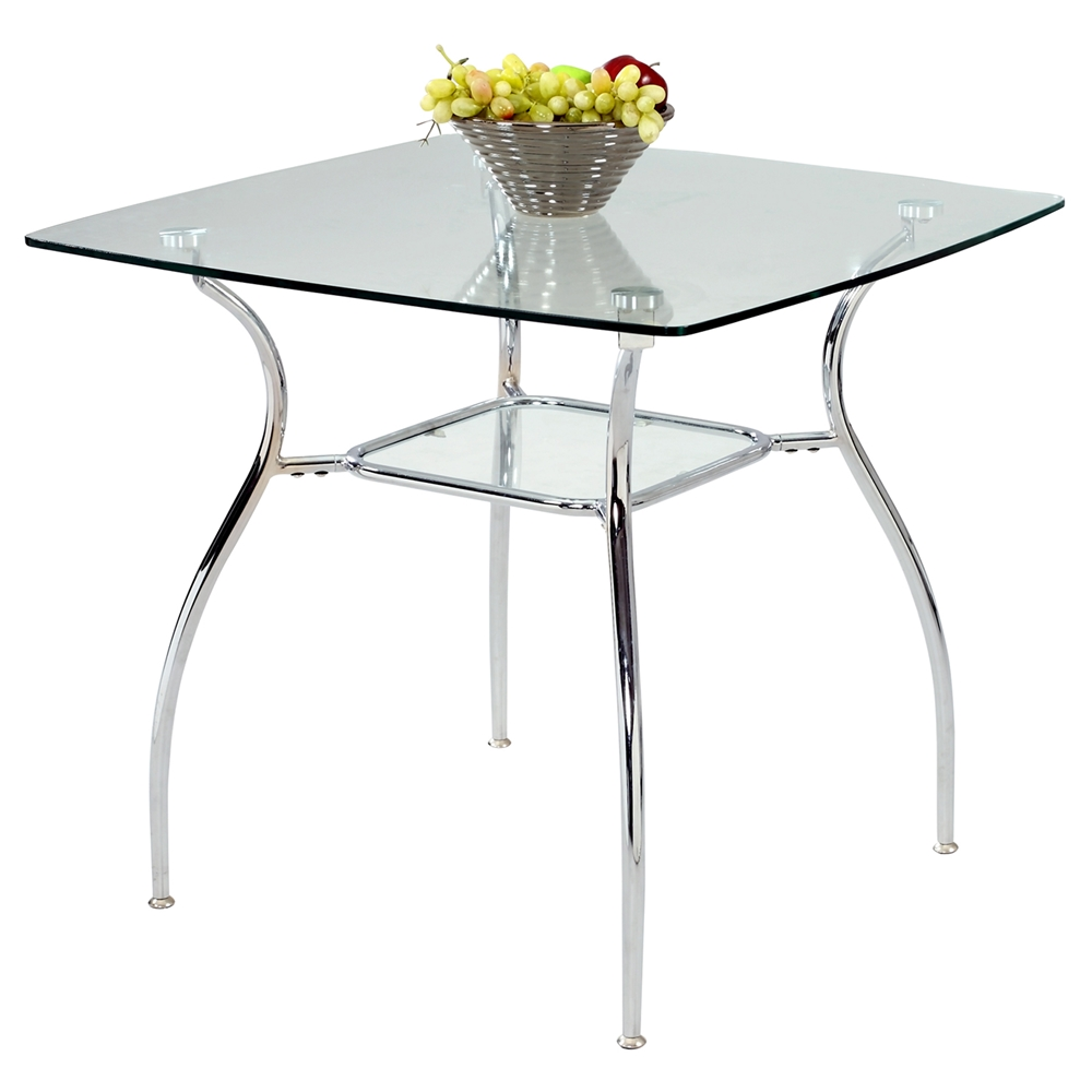 Daisy Square Glass Dining Table Dcg Stores
