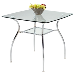 Daisy Square Glass Dining Table
