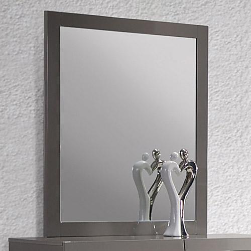 Delhi Mirror Glossy Gray Frame Dcg Stores