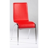 Elaine Arched Leg Contemporary Side Chair in Red - CI-ELAINE-SC-X