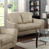 Fremont 3 Pieces Sofa Set - Bonded Leather, Taupe - CI-FREMONT-3PC