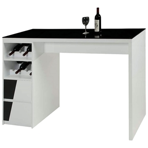 Fulton Contemporary Two Toned Bar