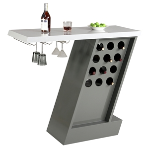 Greenwich Bar Table - Wine Rack